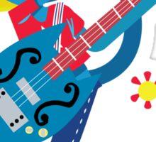 KatyKat-Guitar Sticker