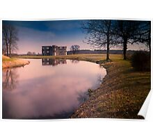 Lyveden New Bield Reflections Poster