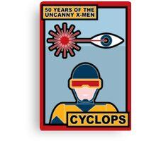 Uncanny X-Men 50th Anniversary - Cyclops Canvas Print