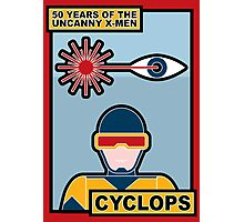 Uncanny X-Men 50th Anniversary - Cyclops Photographic Print
