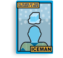 Uncanny X-Men 50th Anniversary - Iceman Canvas Print