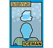 Uncanny X-Men 50th Anniversary - Iceman Photographic Print