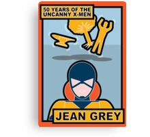 Uncanny X-Men 50th Anniversary - Jean Grey Canvas Print