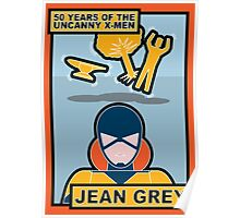 Uncanny X-Men 50th Anniversary - Jean Grey Poster