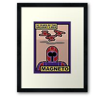Uncanny X-Men 50th Anniversary - Magneto Framed Print
