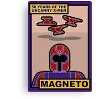 Uncanny X-Men 50th Anniversary - Magneto Canvas Print