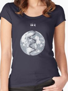 Tardis Staircase //2// Women's Fitted Scoop T-Shirt