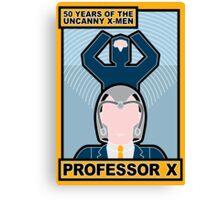 Uncanny X-Men 50th Anniversary - Professor X Canvas Print