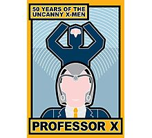 Uncanny X-Men 50th Anniversary - Professor X Photographic Print
