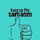 Sarcasm by Nicholas Fontaine