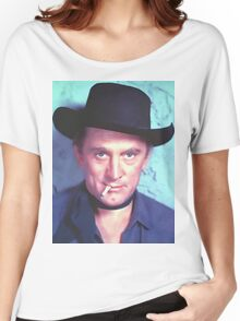 Kirk Douglas in Man Without a Star Women's Relaxed Fit T-Shirt