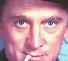 Kirk Douglas in Man Without a Star Sticker