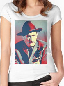 Gregory Peck in The Gunfighter Women's Fitted Scoop T-Shirt