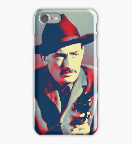 Gregory Peck in The Gunfighter iPhone Case/Skin