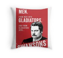 RON SWANSON Quote#4 Throw Pillow