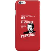 RON SWANSON Quote#4 iPhone Case/Skin