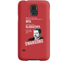 RON SWANSON Quote#4 Samsung Galaxy Case/Skin