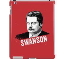 RON SWANSON Quote#4 iPad Case/Skin