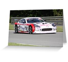 Ginetta G50 GT4 - Wenham and Jones Greeting Card