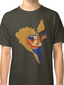 4th of July Flowers Classic T-Shirt