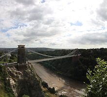 Clifton Suspension Bridge by David Odd