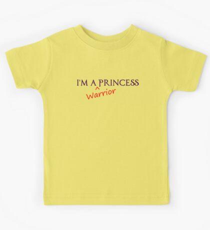 Warrior Princess Kids Tee