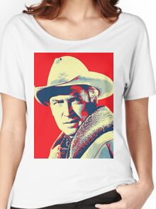 James Stewart in The Far Country Women's Relaxed Fit T-Shirt