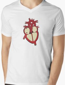 What's In My Heart Mens V-Neck T-Shirt