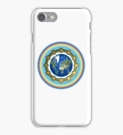 Earth Ascension Stargate iPhone Case iPhone Case/Skin
