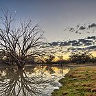 Mount Oxley - Back O Bourke - NSW by Frank Moroni