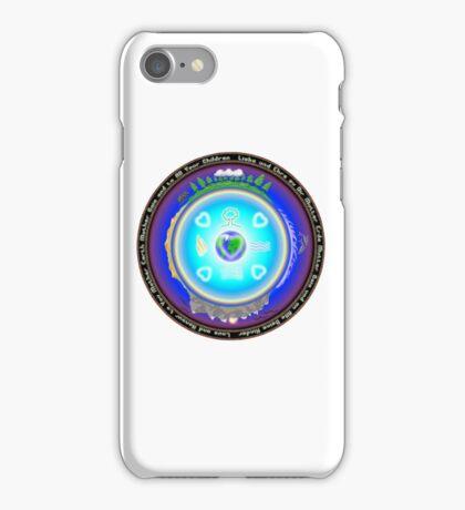 Mother Earth Gaia Mandala iPhone Case iPhone Case/Skin