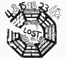 Lost Dharma Numbers Kids Clothes