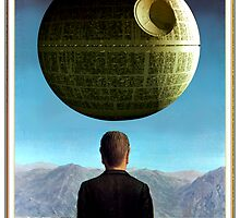 Death Star Magritte by sashakeen