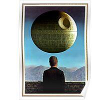 Death Star Magritte Poster