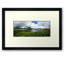 Connemara, Ireland Framed Print