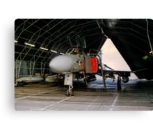 Phantom FGR.2 XV464/U in a Rubb Hangar Canvas Print