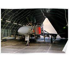 Phantom FGR.2 XV464/U in a Rubb Hangar Poster