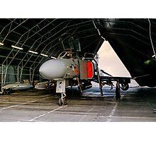 Phantom FGR.2 XV464/U in a Rubb Hangar Photographic Print