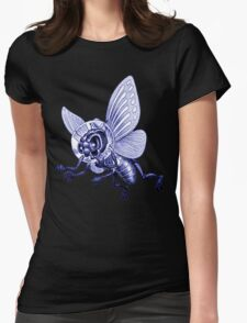 Bug Eyed Monster from Outer Space Womens Fitted T-Shirt