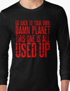 Message TO Space Long Sleeve T-Shirt