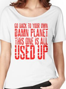 Message TO Space Women's Relaxed Fit T-Shirt