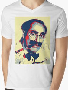 Groucho Marx Mens V-Neck T-Shirt