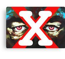 X Ray Eyes Canvas Print