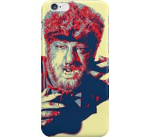 Lon Chaney, Jr in The Wolf Man iPhone Case/Skin