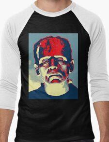 Boris Karloff in The Bride of Frankenstein Men's Baseball ¾ T-Shirt