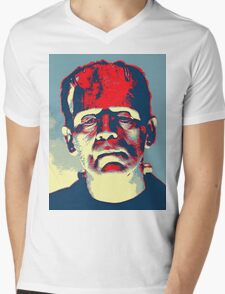 Boris Karloff in The Bride of Frankenstein Mens V-Neck T-Shirt