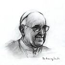 Pope Francis by thedrawinghands