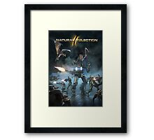Survival of the fittest print Framed Print