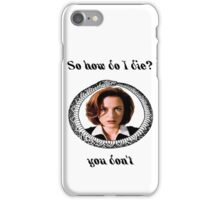 The X-Files - You Don't iPhone Case/Skin