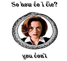 The X-Files - You Don't Photographic Print